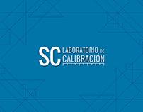SC Laboratorio de Calibración Branding & Web Design