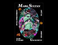 Mark Sultan - poster