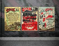 SJOCK fest posters