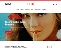 Zesu - Christmas New Year Special Landing Page