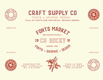 CS Rocky Font Family - Free Download