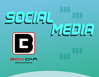 Social Media para Box Car