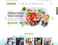 TopzFood - Awesome Food & Restaurant Joomla VirtueMart