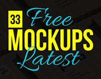 33 Latest Impressive (Free to Use) Mockup Templates