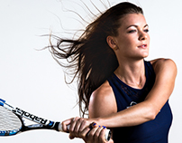 Workday Campaign with WTA, Aga Radwanska