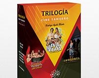 Caja para DVDs