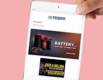 Tarpem Ecommerce website