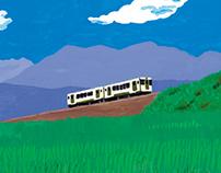 Kogen [Plateau] Train will go.