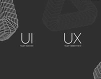 Сайт-портфолио UI/UX дизайнера
