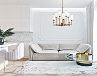 Neo-classical interior in 87 m2