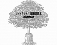 Branch & Barrel Brand Mark illustrated by Steven Noble