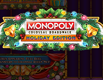 Monopoly Colossal™️ Boardwalk Holiday Edition