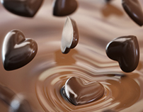 Chocolate Delights // 3D // CGI