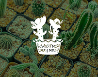 Cactus Mr & Mrs / Logo Design 2017