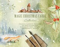 Magic Winter Watercolors