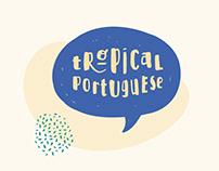 Tropical Portuguese - Logo for Language course