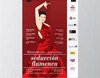 Flamenco Event Poster IC de Amán (Jordan)