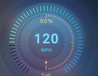 DailyUI #34 Car Interface