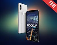 iPhone X – 2 Free PSD Mockups