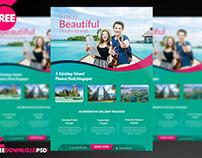 Travel Flyer + Social Media Template