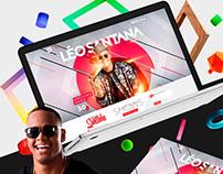 Novo site de Léo Santana
