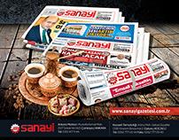 Sanayi Gazetesi Ramazan Bayramı Tebrik