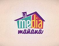 "Cabezote Programa de TV ""La Media Mañana"""