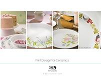 Print design for Ceramics