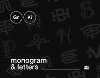 Monogram & Letters