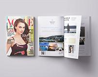 Kempinski Hotel Magazine Ads