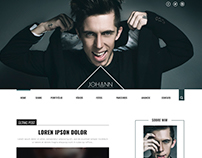 JOHANN STEFANS - LAYOUT BLOG