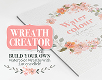 Watercolour Wreath Creator