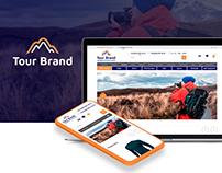 Tour Brand - Online Store