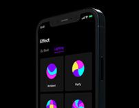 Samsung Party Audio Mobile App Design
