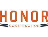 Honor Construction Brand Identity