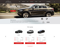 Rental Car | Web design