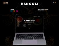 "Landing Page ""Rangoli"""