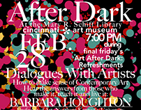 Art After Dark flyer series
