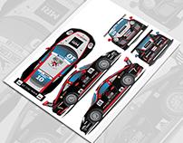 Jeffrey Schmidt, Porsche Supercup car livery