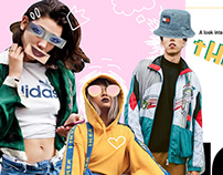 Editorial Fashion Spread