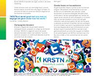 Artikel in Wijchen Zakenvisie over KRSTN