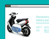 Ather Electric Scooter Website