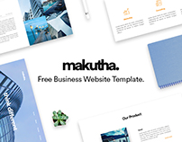 Makutha | Free Business Website Template