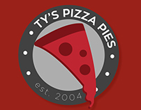 Ty's Pizza Pies    Brand Style Guide