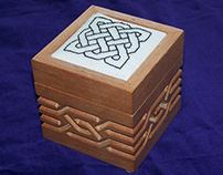 Custom Needlework Mounting Boxes