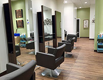 Interior Design: Thomas James Salon by Leslie McGwire