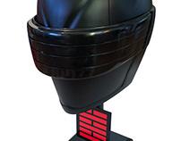 G.I. Joe Retaliation Snake Eyes Prop Helmet Restoration