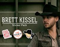 Brett Kissel iMessage Stickers