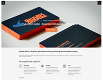 Branding + Webdesign SHARKGRAPHIC