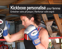 Kickboxing for women - flyer